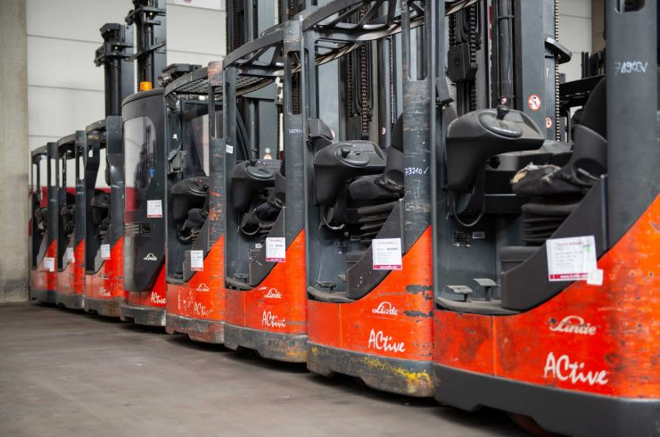 reach trucks from Linde R 12, R 14, R 16, R 17, R 20