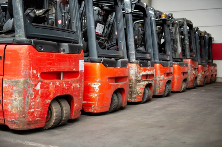 Electric forklifts E16, E 18, E 20, E 25, E 30