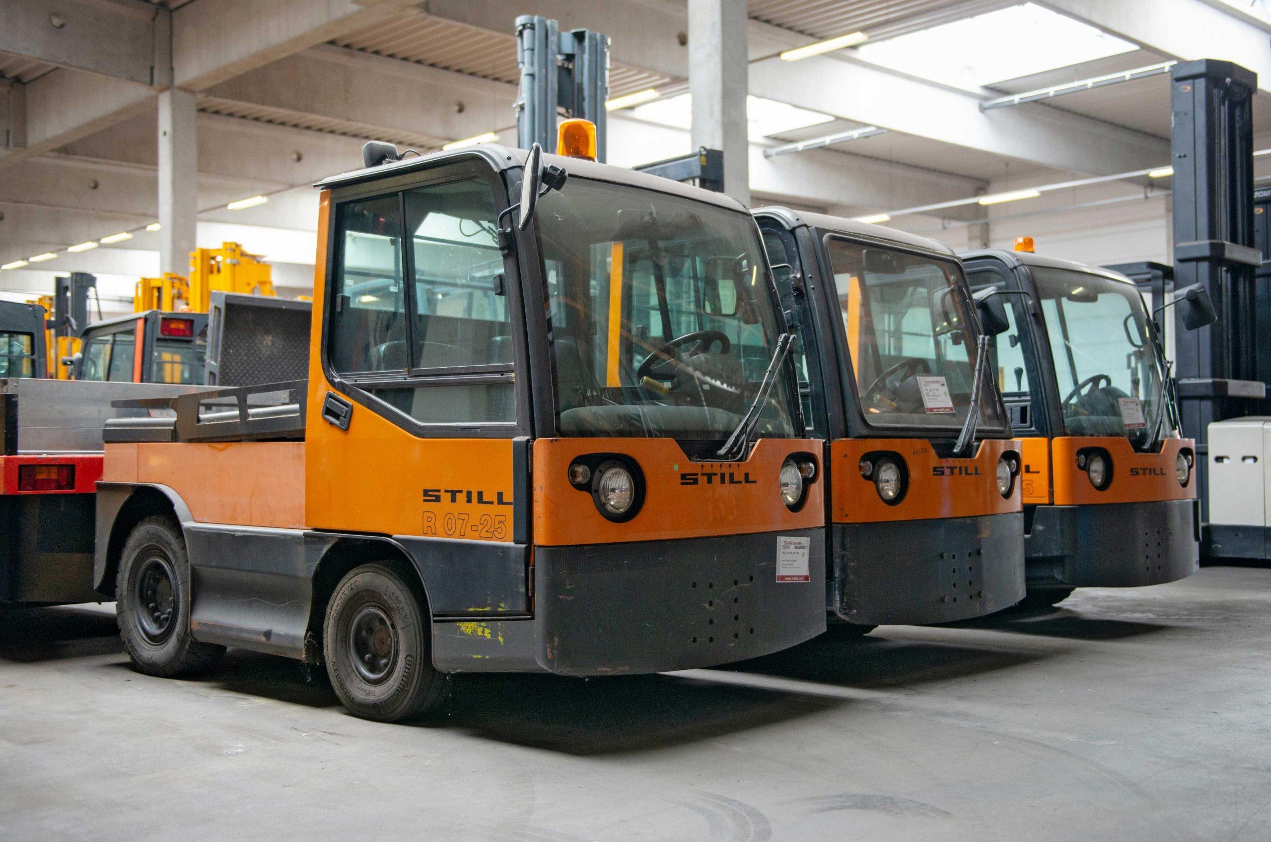 TRAFIK Bremen -Sonderfahrzeuge gebraucht - alle Marken - gebrauchte Schlepper & Fahrersitzwagen - STILL - Linde - Jungheinrich etc.