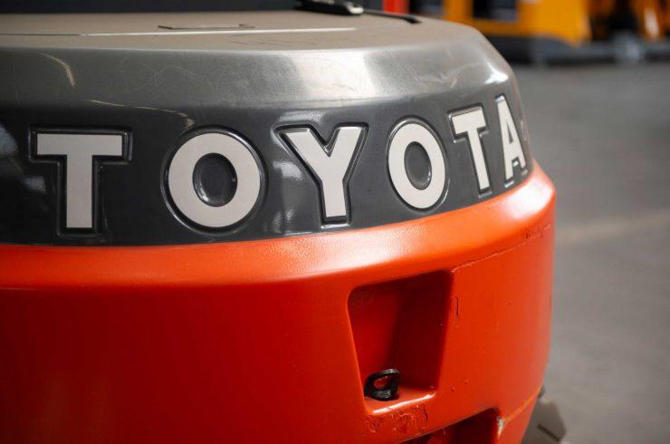 caricatore frontale diesel & GPL Toyota FD & FG